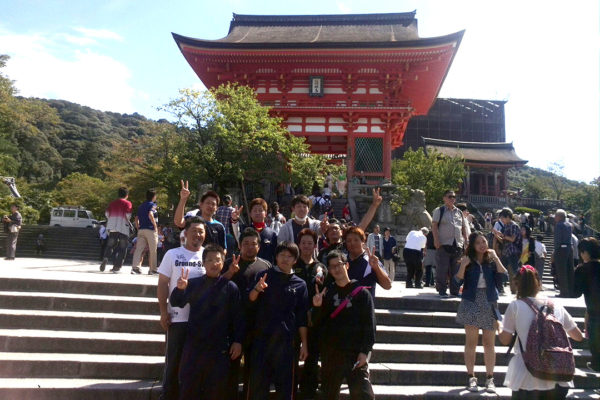 京都清水寺前